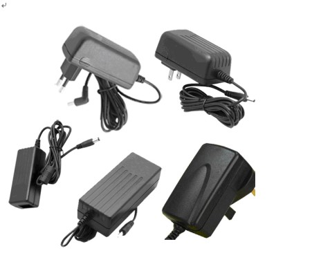 24W wall type switching power adapter