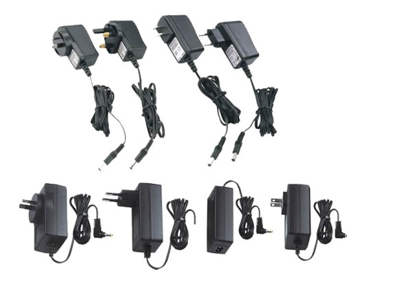 15W wall type switching power adapter